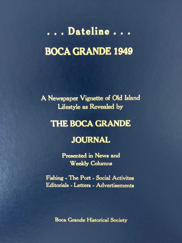1949 Boca Grande Journal - Front Cover