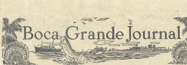 1949 Boca Grande Journal - Header