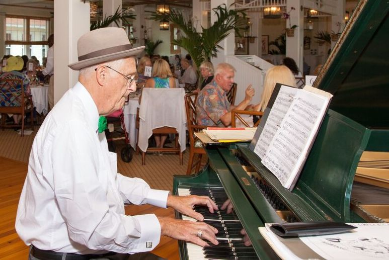 Al Nethery on the Piano
