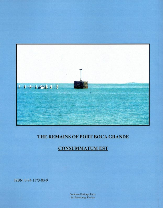 Phosphate Ships of Boca Grande Back Cover