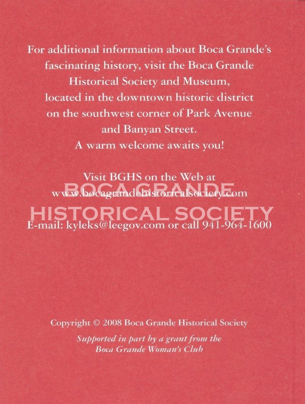 Pocket Guide to Historic Boca Grande Back Cover