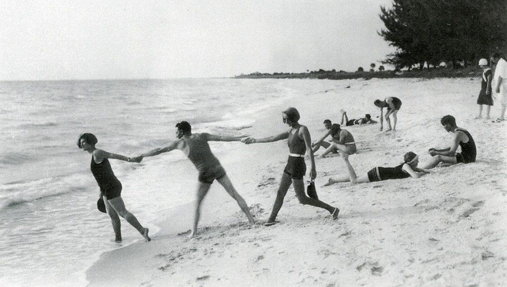 Boca Grande Beachgoers