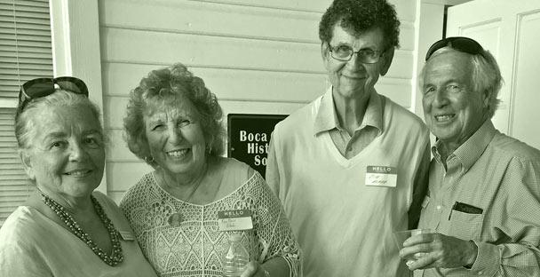 Members of Boca Grande Historical Society