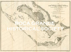 Map of Pine Island Sound 1899