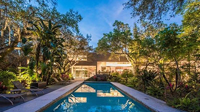 Carl Abbott Home with Pool