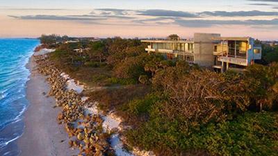 Carl Abbott Home Overlooking the Ocean