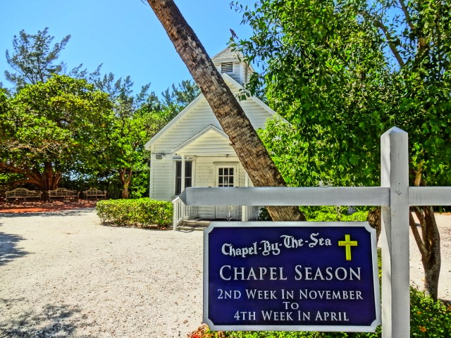 Chapel By The Sea Sign