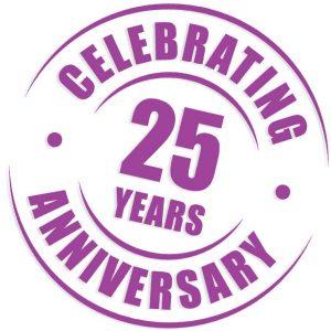 Celebrating 25 Years Anniversary