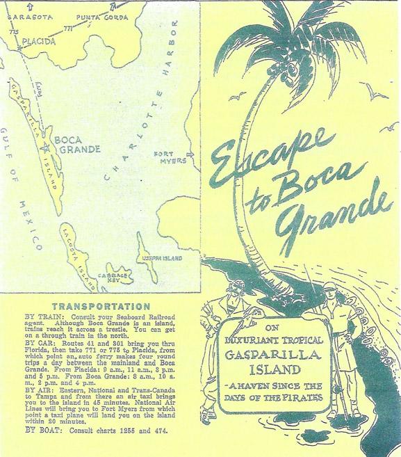 Escape to Boca Grande poster