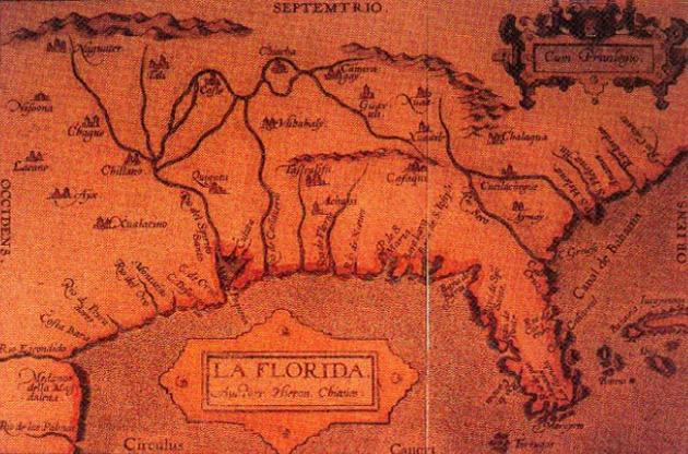 Map of La Florida