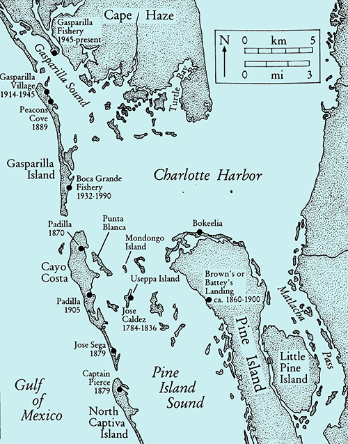 map of Charlotte Harbor