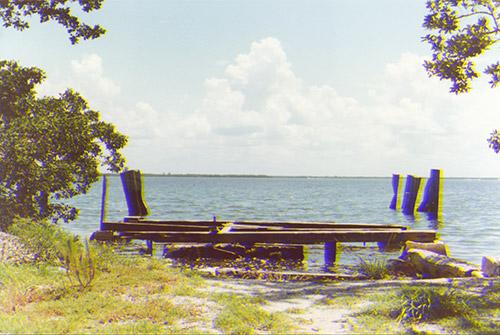 abandoned ferry landing