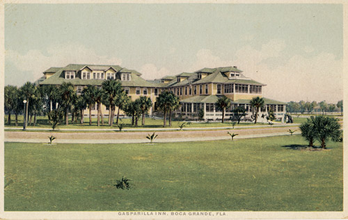 postcard of the Gasparilla Inn