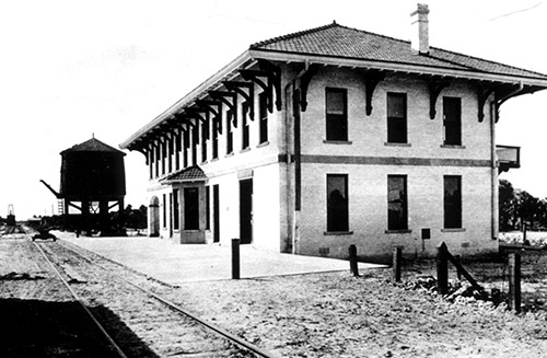 Boca Grande train depot 1911