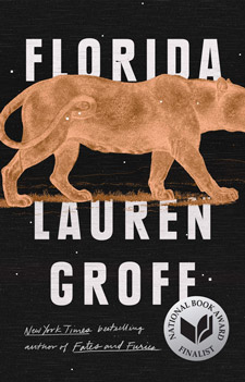 Florida by Lauren Groff Book Cover showing a panther