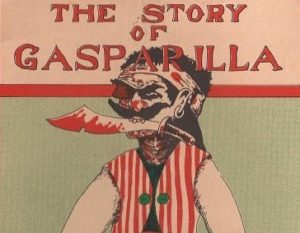 Book Cover showing pirate with title: The Story of Gasparilla